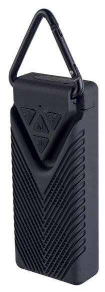 Купить Портативная акустика Perfeo BISCUIT black по низкой цене с доставкой из Яндекс.Маркета (бывший Беру)