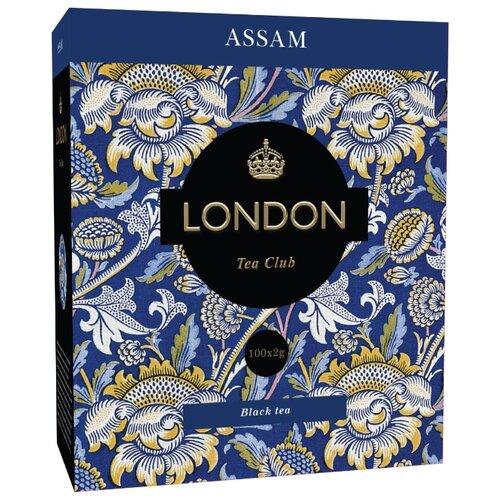 Чай черный London tea club Assam в пакетиках , 100 шт.
