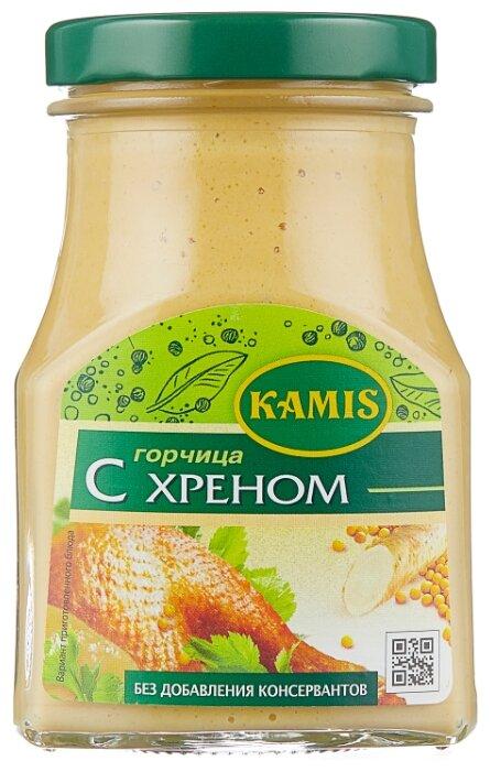 Горчица KAMIS с хреном, 185 г