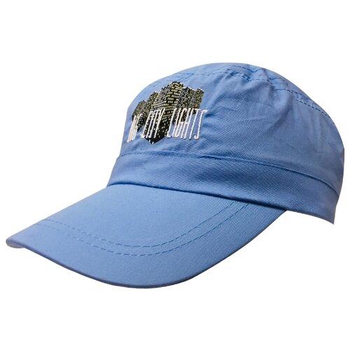 Купить Бейсболка Be Snazzy размер 56, голубой, Головные уборы