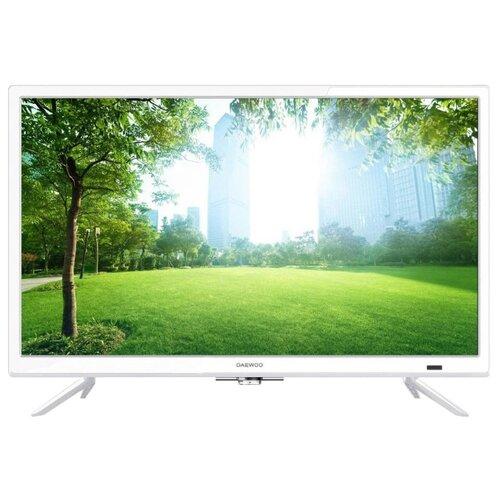 Фото - Телевизор Daewoo Electronics L24A615VAE 24 (2019) белый led телевизор daewoo electronics l32t630vpe