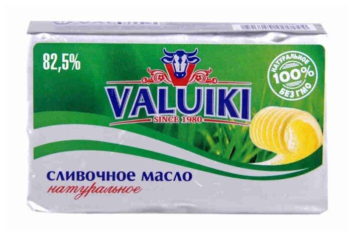 VALUIKI Масло сливочное Натуральное 82.5%, 180 г