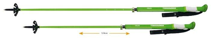 Палки для горных лыж KOMPERDELL Fatso Carbon Team Vario
