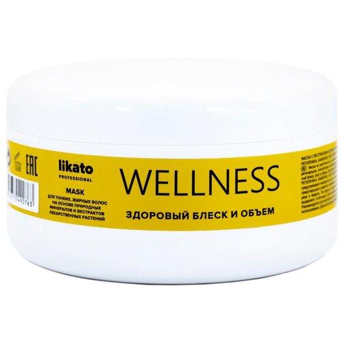 Купить Likato Professional WELLNESS Маска для тонких и жирных волос, 250 мл