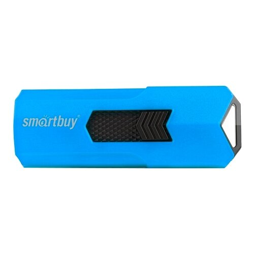 Фото - Флешка SmartBuy Stream USB 2.0 16GB cиний флешка usb 16gb qumo cosmos usb2 0 хром qm16gud cos