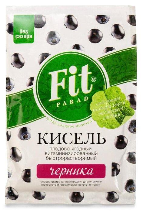 Кисель Fit Parad Плодово-ягодный витаминизированный Черника 30 г