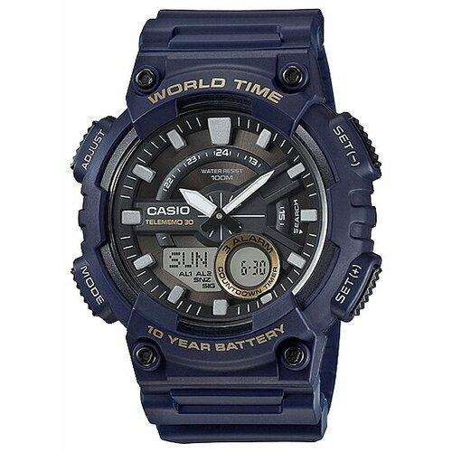 Наручные часы CASIO AEQ-110W-2A мужские часы casio aeq 110w 1a