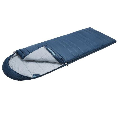 Спальный мешок TREK PLANET Bristol Comfort синий с правой стороны