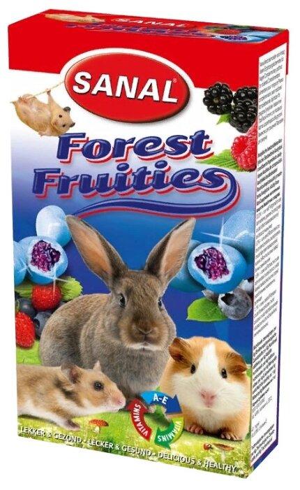 Лакомство для кроликов, грызунов SANAL Forest Fruities