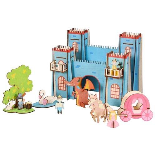 Купить Сборная модель Большой слон Кукольный домик Замок Принцессы (Д-011), Сборные модели