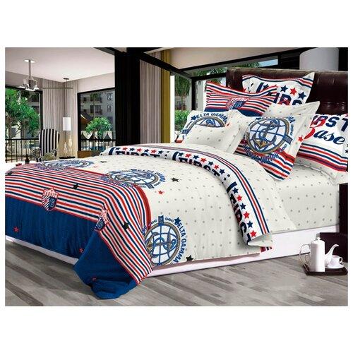 Постельное белье 1.5-спальное Бояртекс Luxor SHZY011 (222) сатинКомплекты<br>
