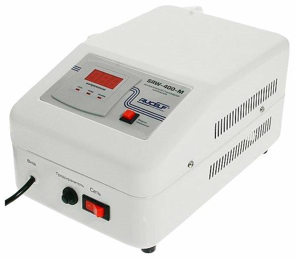 Стабилизатор напряжения однофазный RUCELF SRW-400-M (0.35 кВт)