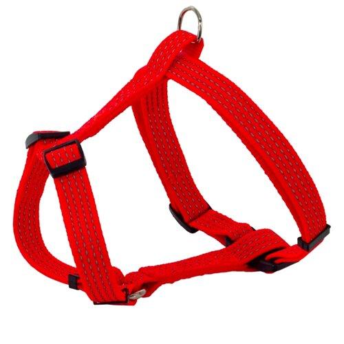 Шлейка КАСКАД Premium (30-50 см) красный