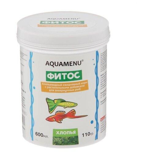 Сухой корм для рыб Aquamenu Фитос 110 г