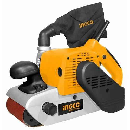 Ленточная шлифмашина INGCO PBS12001 шлифмашина угловая ingco ag8528 125мм 850вт