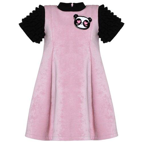 Платье Stefania Pinyagina размер 98, розовый