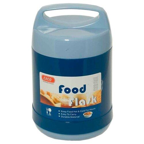 Термос для еды Hangzhou EXCO Industrial Food Flask, 1.2 л синий