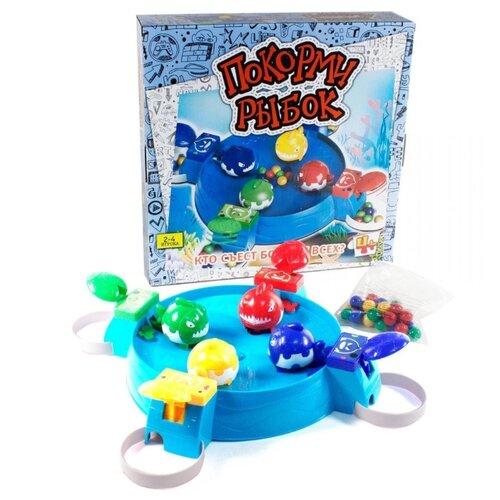 Настольная игра TONG DE Покорми рыбок настольная игра tong de покорми лягушек