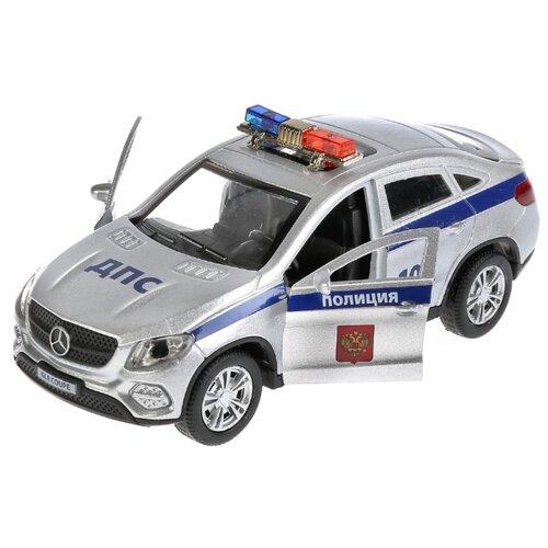 Купить Легковой автомобиль ТЕХНОПАРК Mercedes-Benz GLE Coupe (GLE-COUPE-P-SL) 12 см серебристый, Машинки и техника