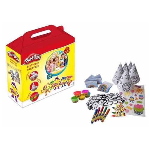 Купить Масса для лепки Play-Doh Вечеринка (CPDO093), Пластилин и масса для лепки