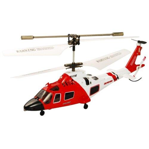 Купить Вертолет Syma Marines (S111G) 21.5 см белый/красный, Радиоуправляемые игрушки