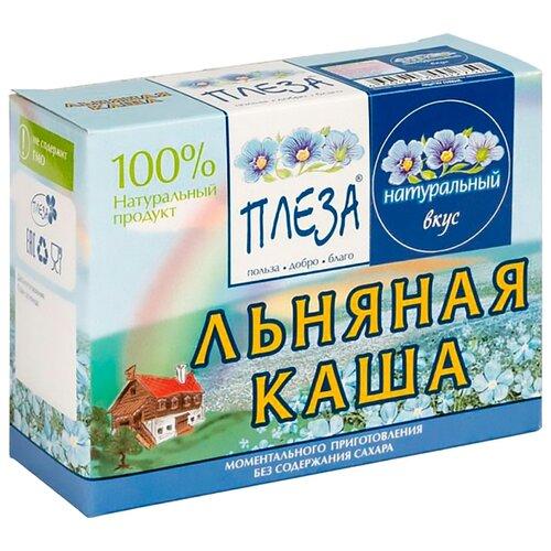 Фото - ПЛЕЗА Каша льняная вкус Натуральный (коробка), 200 г беби ситтер каша ячменная с 4 месяцев 200 г