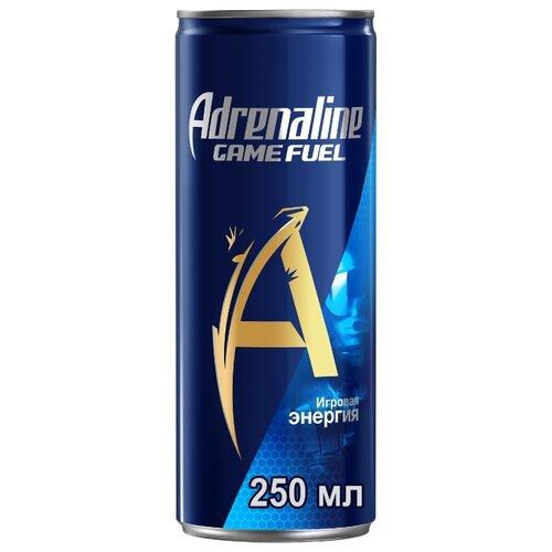 Энергетический напиток Adrenaline Game Fuel, 0.25 л