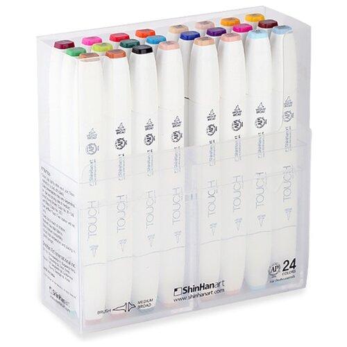 Купить Touch Twin Набор маркеров Brush (1212400), 24 шт., Фломастеры и маркеры