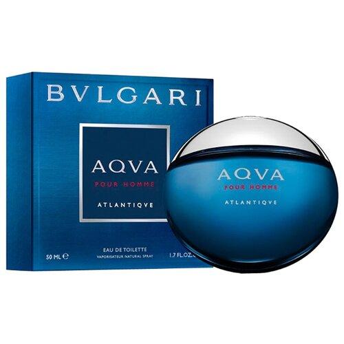 Туалетная вода BVLGARI Aqva pour Homme Atlantiqve, 50 мл bvlgari pour homme