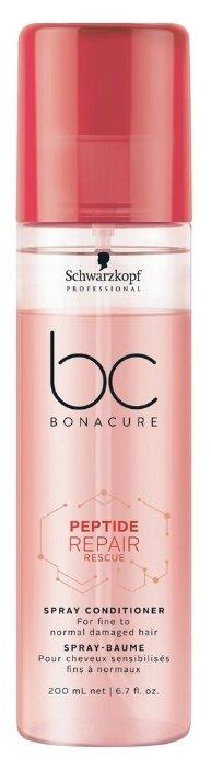 BC Bonacure несмываемый спрей-кондиционер Peptide Repair Rescue для поврежденных волос