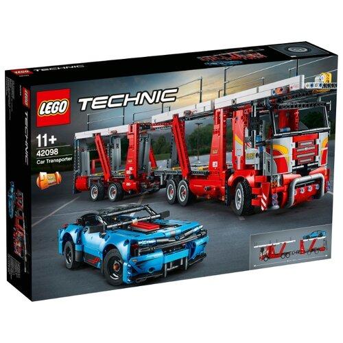 Конструктор LEGO Technic 42098 Автовоз lego конструктор lego technic 42080 лесозаготовительная машина