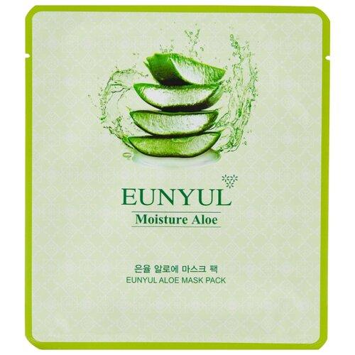 Eunyul Moisture Aloe увлажняющая маска с экстрактом алоэ, 30 мл одноразовая увлажняющая маска с экстрактом алоэ 21 мл tony moly i am real
