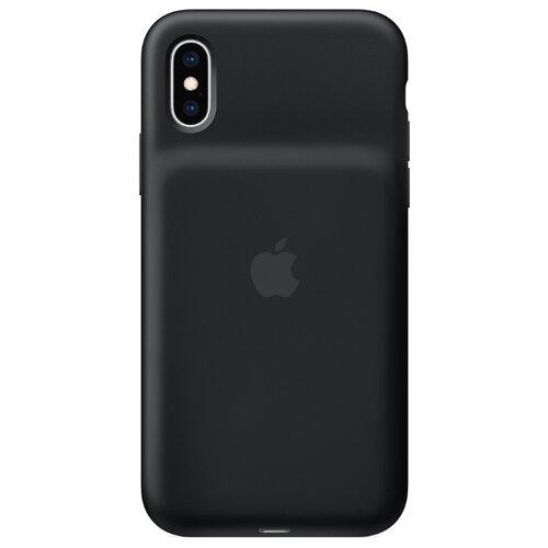 Чехол-аккумулятор Apple Smart Battery Case для Apple iPhone XS черныйЧехлы-аккумуляторы<br>