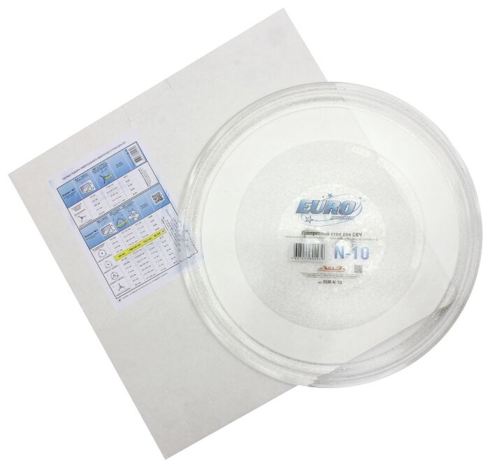 Тарелка для СВЧ EURO Kitchen EUR N-10