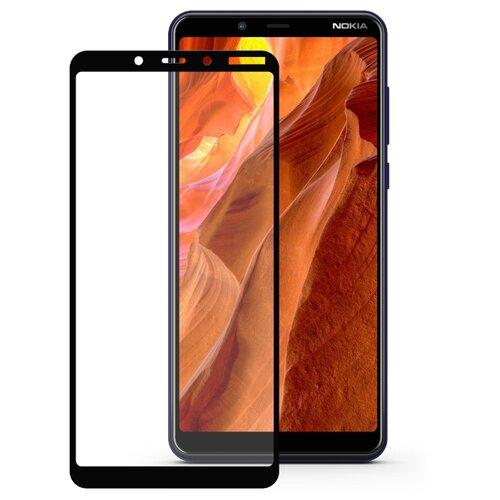 Защитное стекло Mobius 3D Full Cover Premium Tempered Glass для Nokia 3.1 Plus черный  - купить со скидкой