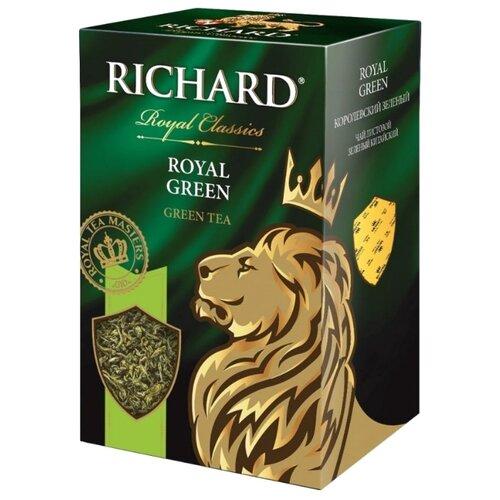 Чай зеленый Richard Royal green, 90 г чай листовой richard royal ceylon dogs