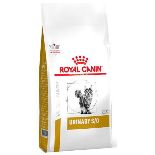 Корм для кошек Royal Canin Urinary S/O при лечении МКБ 7 кг cat wet food royal canin kitten sterilized kitches for kittens pieces in sauce 24 85 g