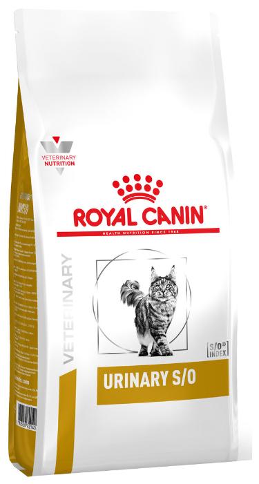 Корм для кошек Royal Canin Urinary S/O при лечении МКБ 7 кг