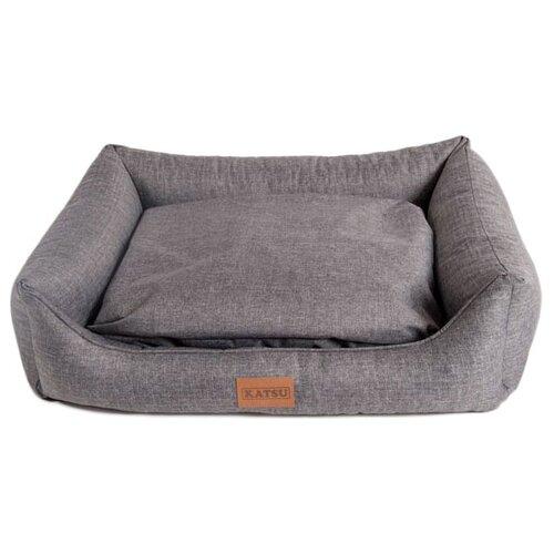Лежак для собак Katsu Sofa Opi 82х60х22 см серый