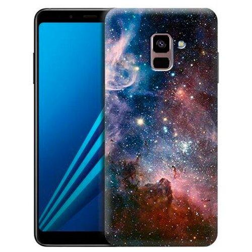 Чехол Gosso 697438 для Samsung Galaxy A8 Plus (2018) космос чехол накладка для samsung galaxy s9 plus со стразами gosso cases