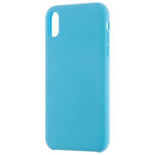 Купить Чехол INTERSTEP Soft-Touch для Apple iPhone Xr бирюза