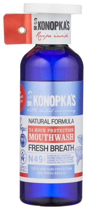 Dr. Konopka's Натуральный ополаскиватель для полости рта Защита 24 часа