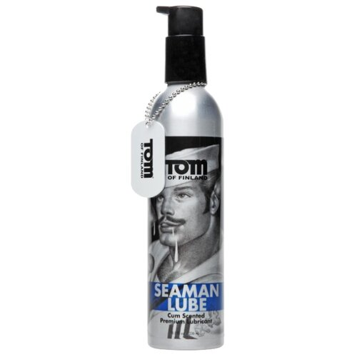 Гель-смазка Tom of Finland Seaman Lube с запахом спермы 236 мл флакон
