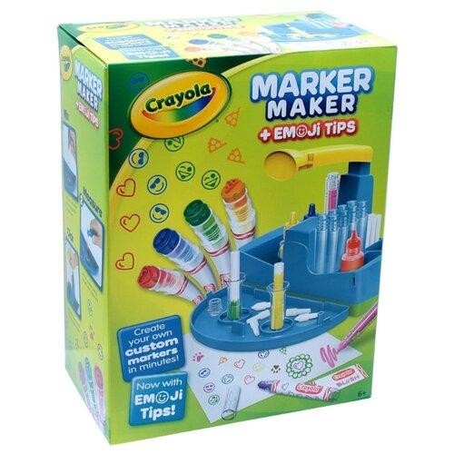 Crayola Набор для создания фломастеров с штампами 16 шт. (74-7214), Фломастеры  - купить со скидкой