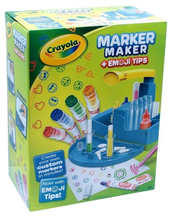 Crayola Набор для создания фломастеров с штампами 16 шт. (74-7214)
