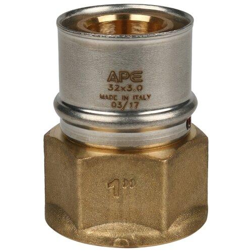 Муфта STOUT SFP-0002-000132 1x32 пресс – резьба 1 шт. переходник stout sfp 0002 000132 с внутренней резьбой 1х32 мм для металлопластиковых труб прессовой