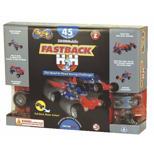 цена на Конструктор Zoob ZOOBMobile 12056 Fastback H2H