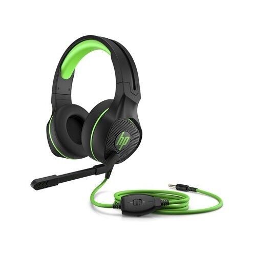 Компьютерная гарнитура HP Pavilion Gaming Headset 400 черный/зеленый компьютерная гарнитура hp omen mindframe prime белый