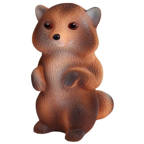 Купить Игрушка для ванной ОГОНЁК Енот (С-646) коричневый, Игрушки для ванной