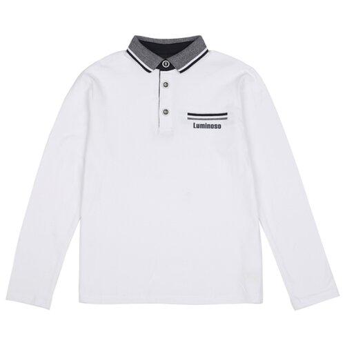 Купить Поло Luminoso размер 158, белый, Футболки и майки